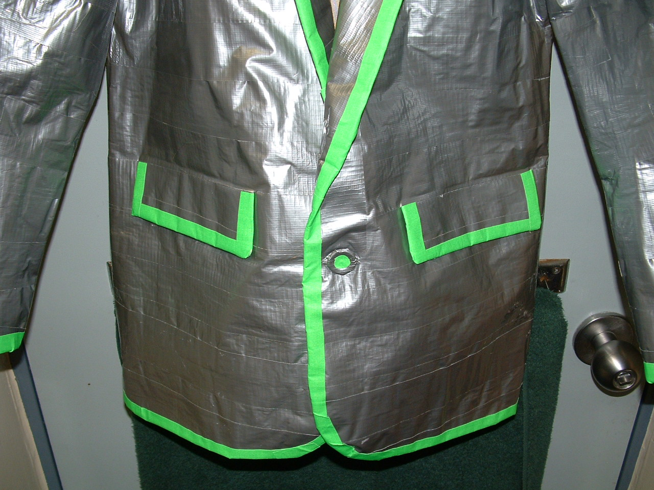 Duct Tape Jacket 9